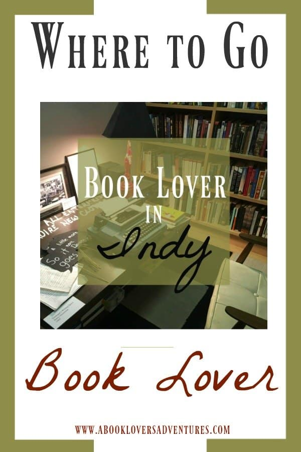 book lover in Indianapolis
