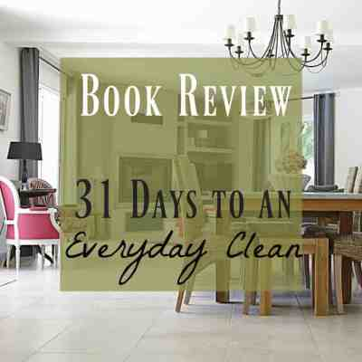 Book Review – Everyday Clean Home by Amy Scheren
