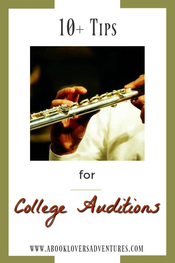 college audition tips