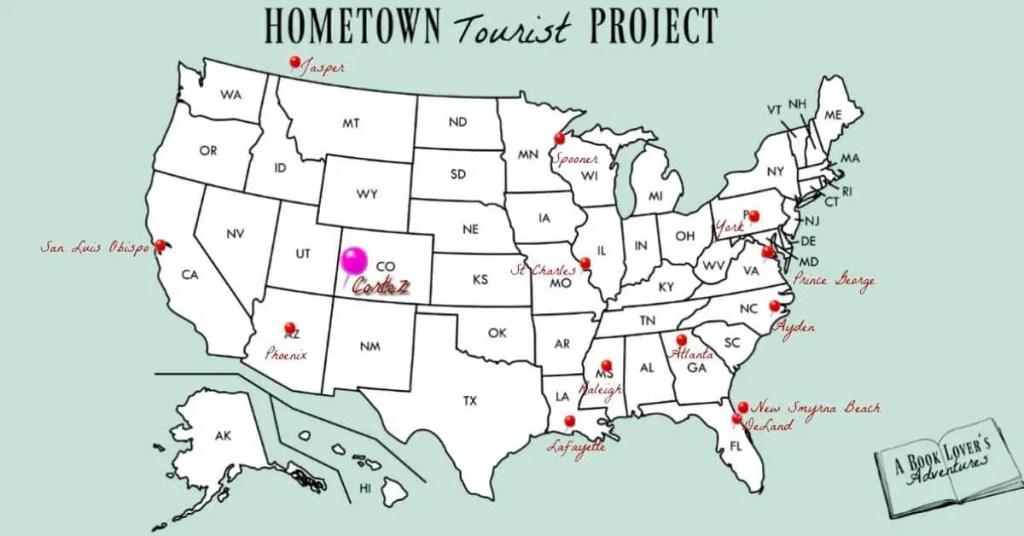 Cortez, CO map