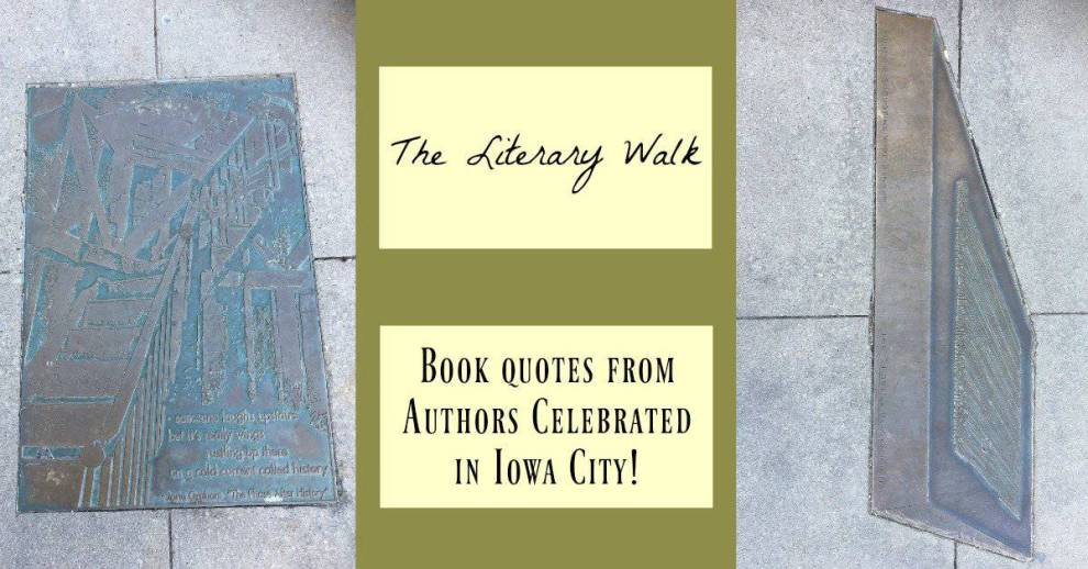 The Literary Walk for Book Lovers in Iowa City