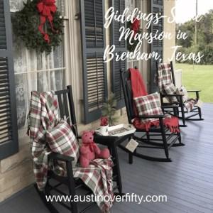Giddings-Stone Mansion Porch