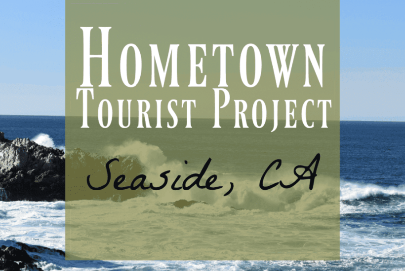 Seaside is part of Monterey Peninsula