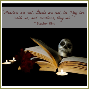 scary books Stephen King quote