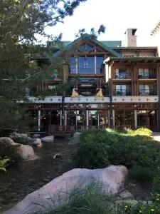 the wilderness lodge at Disney World