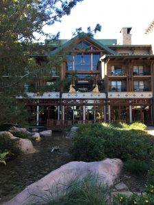 the wilderness lodge at Disney World
