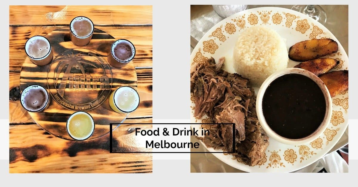 flight of beer and favorite meal are favorite things to do in Melbourne
