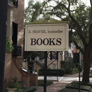 walking tour savannah make sure to go to E Shaver Bookseller