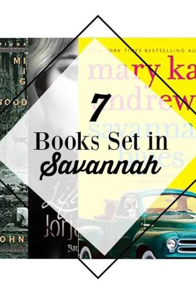books set in Savannah