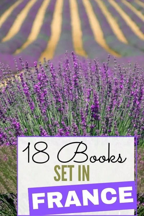 lavender image for Books Set in France