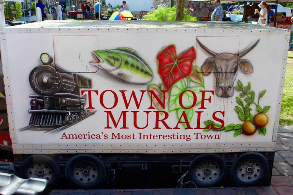 Town of Murals, Lake Placid