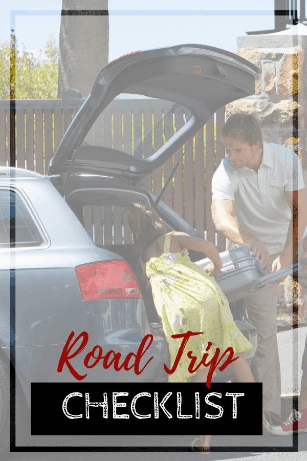 packing the family van for a road trip checklist included