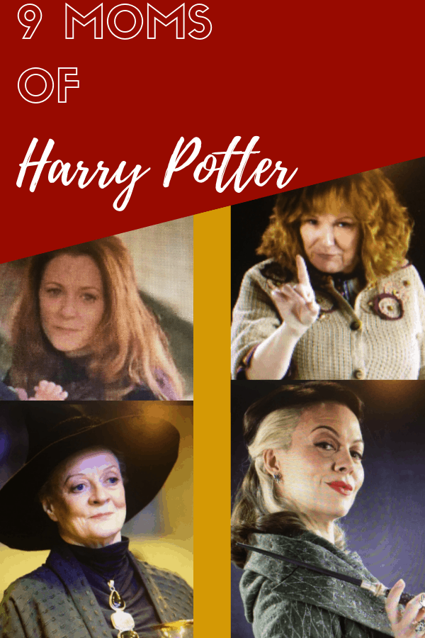 Harry potter moms - Lily Potter, Molly Weasley, Narcissa Malfoy