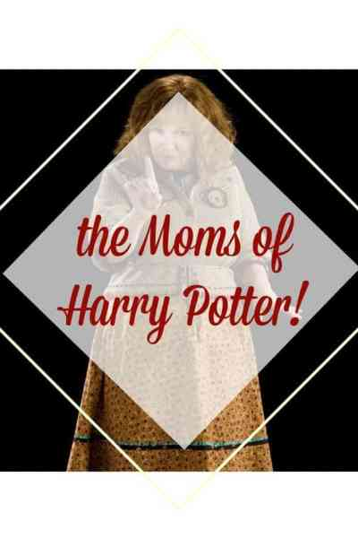 Molly Weasley a favorite of all the Harry Potter moms
