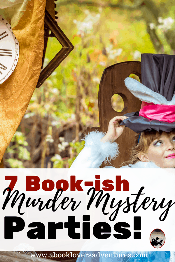 How to throw an awesome murder mystery party for your book club!