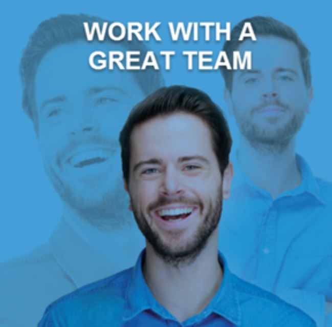 work with a great team