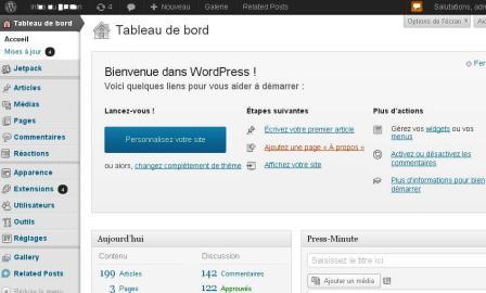 tableau-bord-wordpress-blog-gratuit