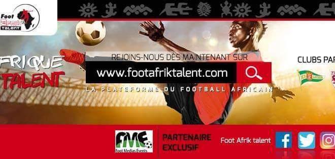 footafriktalent la plateforme web du Football Africain