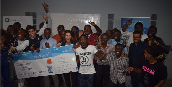 Gifted Mom meilleure startup au Seedstars Douala 2017