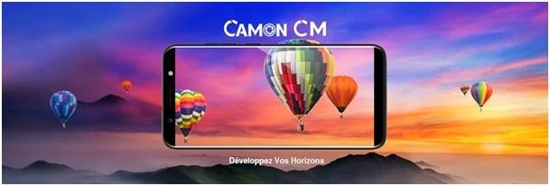 Le Smartphone Tecno CAMON CM