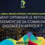 Digital Communication: Abidjan capitale africaine des influenceurs