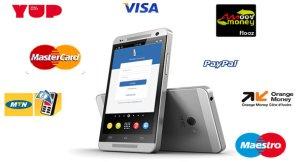 Locatys est compatible avec carte Visa, Master Card, YUP, mobile money.