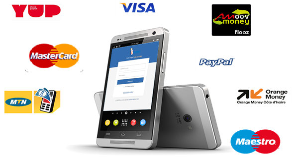 Locatys est compatible avec carte Visa, Master Card, YUP, mobile money.