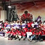 Remise des grands prix aux gagnants du FEJA Orange 2018