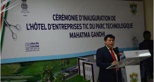 Inauguration du Parc Technologique Mahatma Gandhi au VITIB