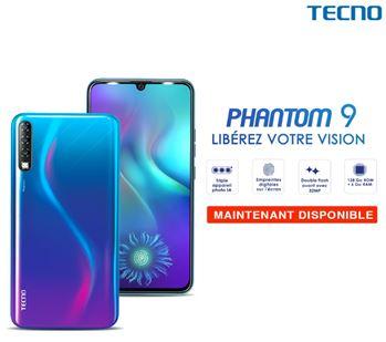 Le TTECNO MOBILE Le nouveau Phantom 9 est enfin DISPONIBLE