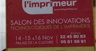Salon des Innovations Technologiques de l'Imprimerie à Abidjan