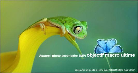 Grand angle, Macrophotographie, Effet bokeh, sur les series Camon 12