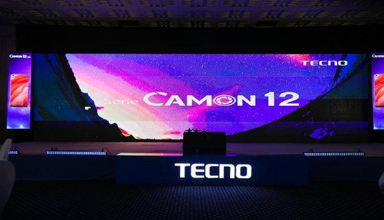 Tecno Mobile lance les Camon 12 PRO,Camon 12 et Camon 12 AIR, les photophones au design unique