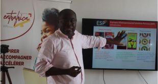 Le DG ERIC KACOU présente l'ESP Entrepreneurial Solutions Partners en Afrique Côte d'Ivoire