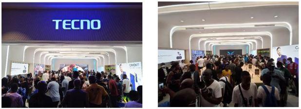 Tecno Mobile ouvre sa plus grande boutique d'Afrique de l'ouest à Playce Marcory à Abidjan