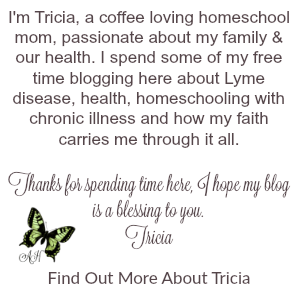 Tricia Bio Abounding in Hope with Lyme