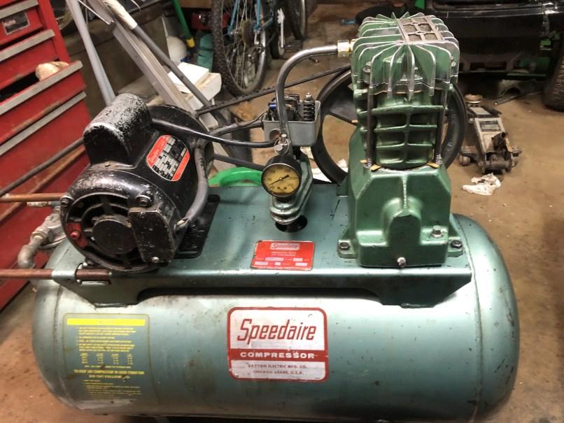 Help Identifying Old Green Compressor