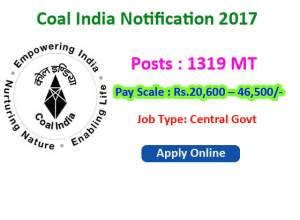 coal india ltd jobs