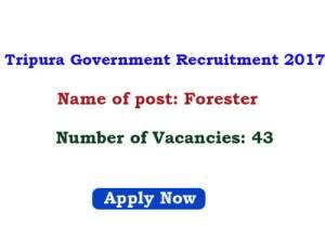 Tripura Govt Jobs