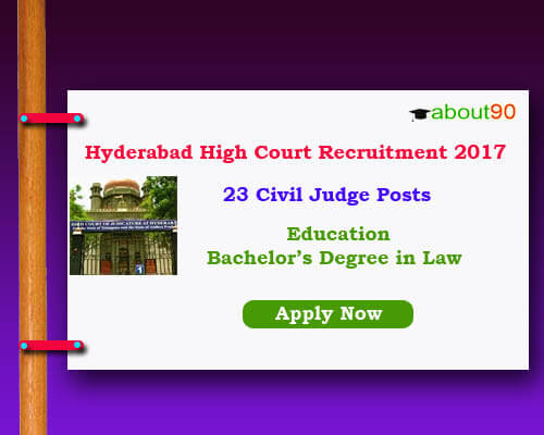 hyd high court jobs