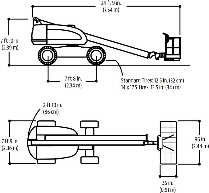 JLG 400S