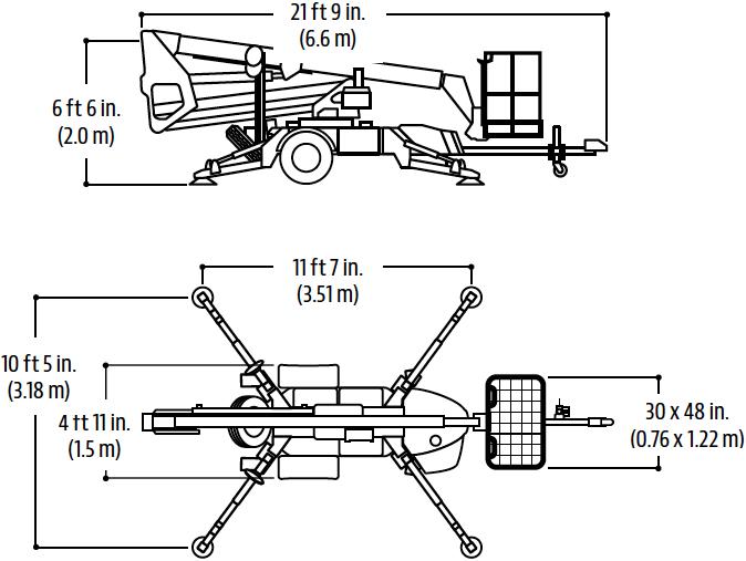 JLG T350