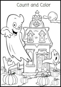 Free Printable Halloween Coloring Pages and Activity ...