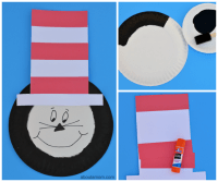 The Cat in the Hat Kid Craft - About A Mom