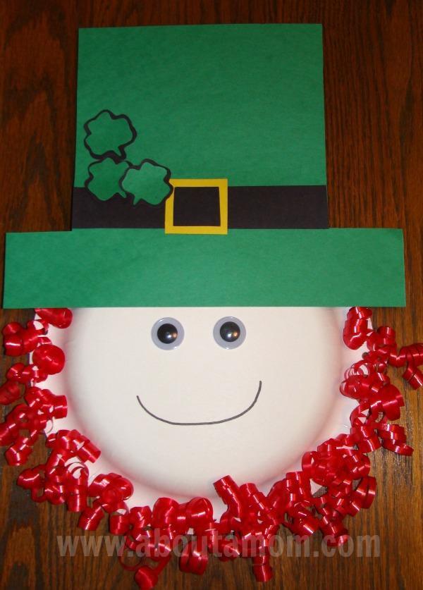 Leprechaun Paper Bag Puppet Kid Craft About A Mom