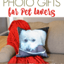 Photo Gifts For Pet Lovers About A Mom
