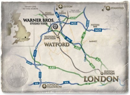 Harry Potter London Tour Map.Buying Tickets For The Warner Bros Studio Tour Travel Blog