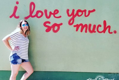 i love you so much street art austin