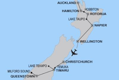 New Zealand Road Trip Outline