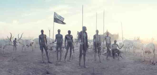 Jimmy Nelson, Mundari, Zuid-Soedan